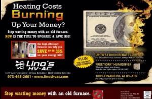 Lino's HVAC Mailer